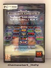 SEGA MEGA DRIVE CLASSIC COLLECTION VOLUME 1 - PC - NUOVO SIGILLATO NEW