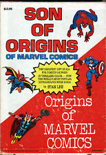 Stan Lee SON OF ORIGINS & ORIGINS OF MARVEL COMICS w SLIPCASE Marvel 1976 Spidey