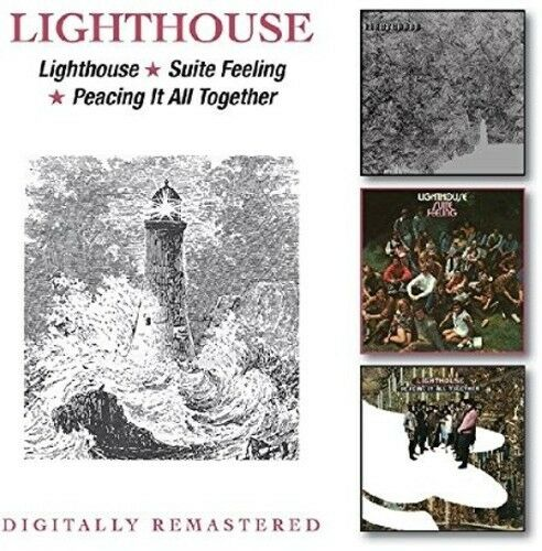 Lighthouse - Lighthouse / Suite Feeling / Peacing It All [New CD] UK - Import