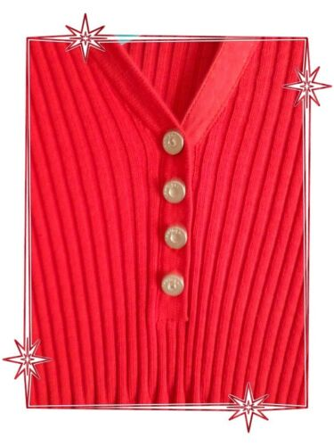 Fantaisie 5 Rouge Lewinger Taille 44 Modèle Pull Ubu AMagnifique FKc3lJT1