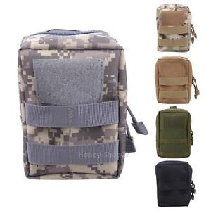 Tactical Molle Pouch Belt Waist Pack Bag Military Waist Fanny Phone Pocket Bag
