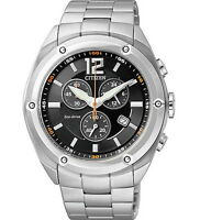 Citizen Eco-Drive Chronograph Stainless Steel Men's Watch AT0980-63E