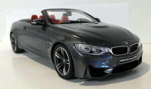 GT-Spirit-1-18-Scale-GT081-BMW-M4-Cabriolet-Mineral-grey-Resin-sealed-Model-Car