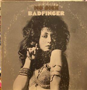 BADFINGER No Dice LP APPLE SKAO-3367 rare OG stereo VG+