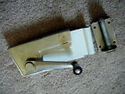 VINTAGE MID CENTURY ATOMIC - WALL MOUNT CAN OPENER - WHITE & CHROME - JAPAN