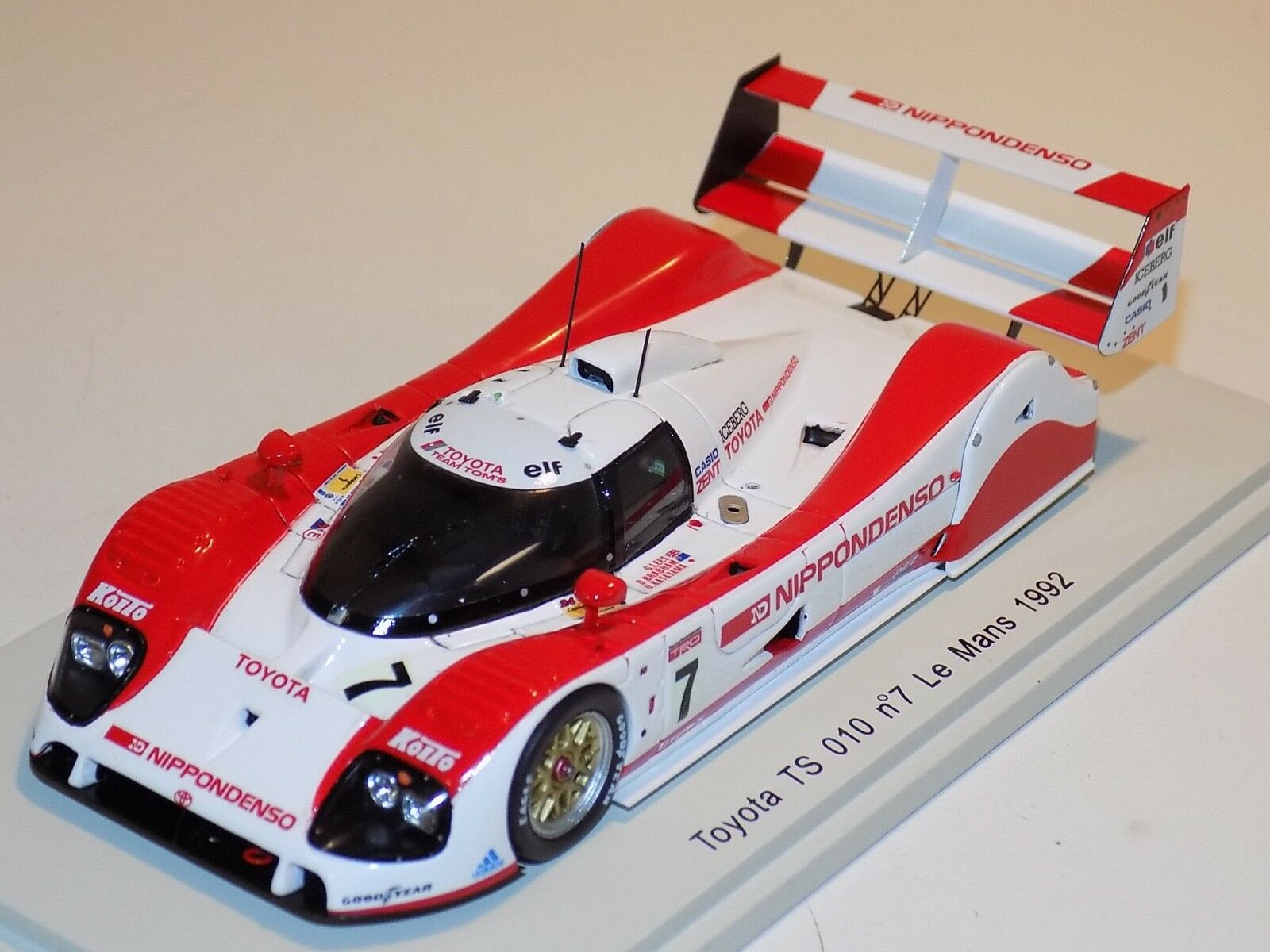 1 43 Spark Toyota TS 010  Car No.7 1992 24 H of Le Mans  S2364