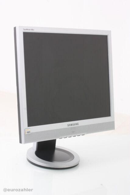 Samsung SyncMaster 930XT LCD Monitor 19 Zoll silber/schwarz