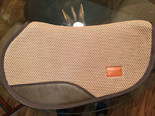 Tacky-Tack gaited Western saddle pad Light Brown by TN Saddlery