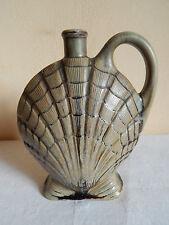 ancienne bouteille / pichet en céramique - coquille St Jacques - Denbac