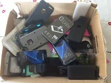 Joblot of 34+ Mobile phone accessories & 2 Dummy Samsung Galaxy Phones