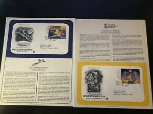 1992-US-First-Day-Cover-29-Cent-Space-Exploration-Set-Apollo-Soyuz-Astronaut