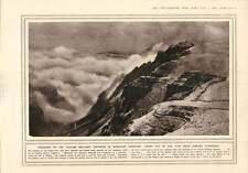 1916 Italian Military Engineers Rhodes Near Cortina D'ampezzo