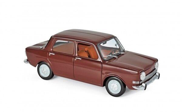 Norev 185713 Simca 1000 ls 1974 Amarante rosso 1 18 maqueta de coche