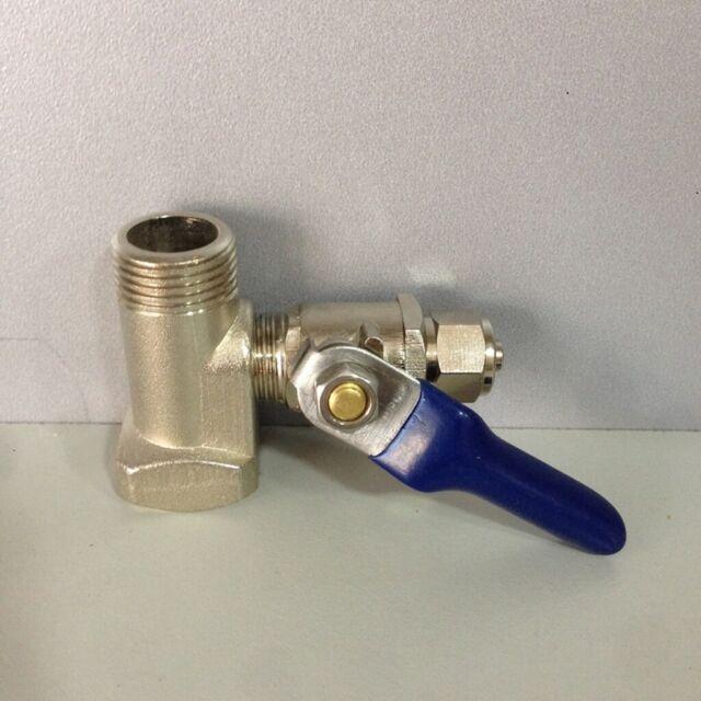 Wasseranschluss Adapter Absperrhahn Osmoseanlage Wasserfilter Kugelventil Osmose