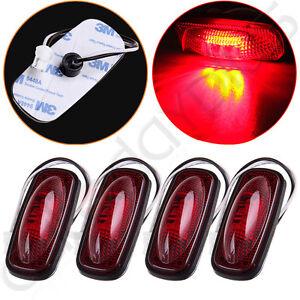 4X-For-03-09-Dodge-Ram-2500-LED-Rear-Red-Side-Fender-Marker-Dually-Bed-Light