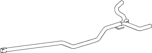 GM528B EXHAUST PIPE FOR VAUXHALL VECTRA 2 2000-2008