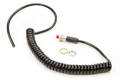 TCI AUTOMOTIVE 388400 10 Amp Micro Switch with Spiral Cord 18-Gauge