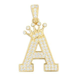 Large-10k-Solid-Gold-CZ-Initial-Pendant-for-Women-A-Z-Initial-Tiara-Charm