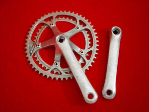 Shimano-Bio-Pace-Exage-Sport-170-mm-Crankset-Double-Alloy-52-42-Used