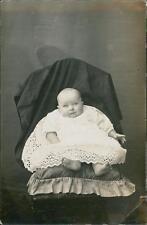 "Baby vintage studio RP ""Florrie & Arthur love from Nance""  QR1341"