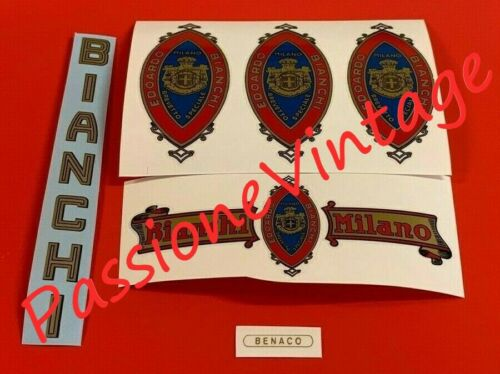 BIANCHI Benaco  KIT decalcomanie//adesivi//stickers