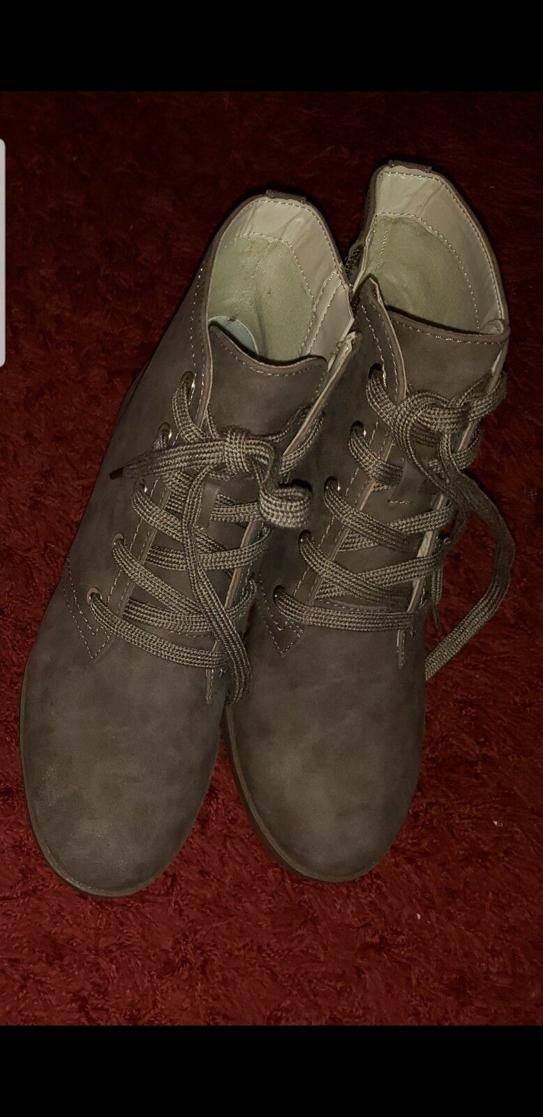 Indigo Rd. Abelly Med Brown Ankle Boots womens size 6