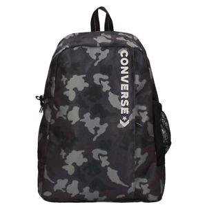 Converse-Neuf-Homme-Mono-Camouflage-Vitesse-2-Sac-a-Dos-Noir-avec-Etiquette