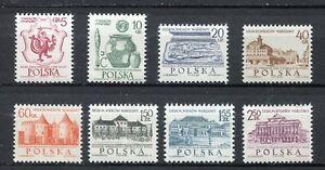 35763-Poland-1965-MNH-700th-Anniversary-Of-Warsaw-8v