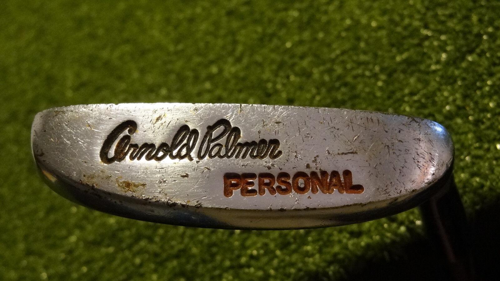 Arnold Palmer  personal Putter RH 35  TT Arnold Palmer Cochegador Eje De Acero RR2405  alta calidad general