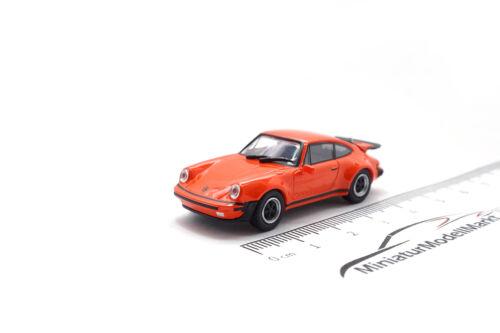 1977-1:87 #870066104 Minichamps Porsche 911 turbo-naranja