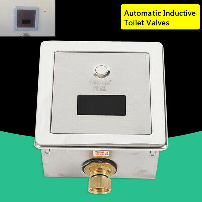 Infrarot Sensor Urina automatischer Spülventil Kupferventil Drückerplatte WC