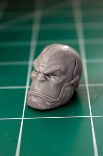 Custom Resin The First Mutant Head Cast for 1:12 scale Apocalypse Closed mouth