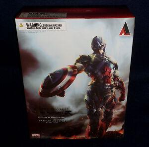 Marvel-Comics-Variant-CAPTAIN-AMERICA-Play-Arts-Kai-10-034-Figure-Square-Enix