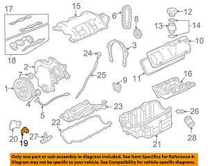 GM OEM-Engine Crankshaft Crank Position Sensor CPS 12557046