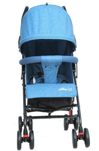 Buggy Stroller Travel Buggy Summer Blue Lightweight Pushchair for Kids uk
