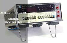 Agilent Hp 3438a Digital 3 Digits Bench Multimeter Look Ref 336g