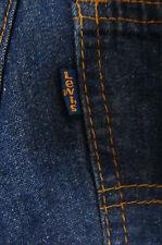 Vintage 60's/70's LEVIS Jeans #514 Blue Tab Single Stitch Scovill Zip