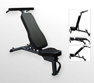 Bodyrip Premium Pro Pliable Banc De Musculation Réglable Maison Gym