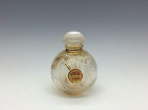 RARE-Vintage-D-Orsay-de-Chypre-R-Lalique-Perfume-Bottle