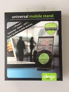 Universal Mobile Halterung für Mobiltelefon zum Aufstellen CLINGO 07008 # 600057