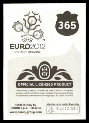 Panini Euro 2012-RICHARD DUNNE IRELAND No 365