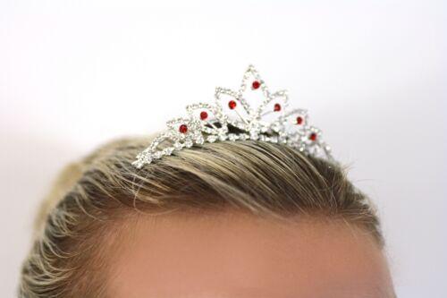 Tiara Combs Flower Girls Bridesmaid Accessories Kids Crystal Diamante Crown Prom
