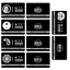 miniature 1 -  SCP Foundation Keycards sticker pass 10pcs PLASTIC CARD cosplay games gift