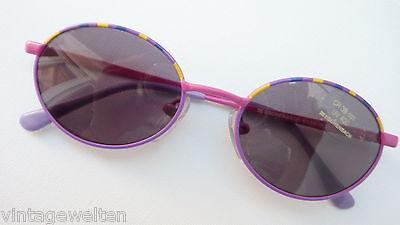 GemäßIgt Günstige Eschenbach Lila Sonnenbrille Für Mädchen Kunstoffgläser Grau Neu Gr. K