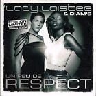CD single: Lady Laistee & Diam's: un peu de respect: 3 titres. barclay. D1