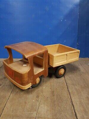 Holzauto Spielzeugauto DDR LKW Lastwagen Ostalgie Vintage   eBay
