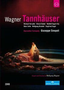 Sinopoli-Versalle-Studer-Tannhauser-2-DVD-nuevo-Wagner-Richard