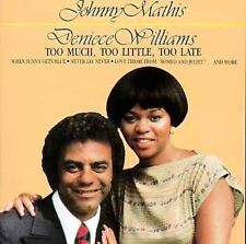 Too Much, Too Little, Too Late by Johnny Mathis (CD, Sony Music Distribution) 92