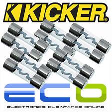 Kicker KNPAGU5 confezione da 10 5 Amp auto amplificatore AGU argento vetro Fusibili x 10