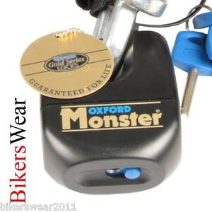 OXFORD-Monster-Padlock-Only-Ultra-Strong-Motorcycle-Security-Disc-Lock